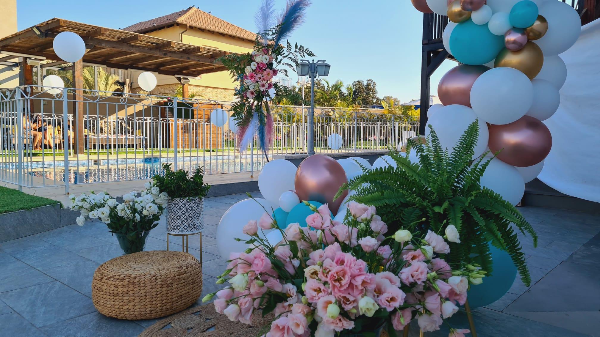 רויתא סידור פרחים ובלונים - תמונה ראשית